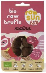 Trufle Malinowe Raw Bio, 105g