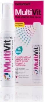 MultiVit Komplet Najważ. Witamin w Sprayu, 25ml