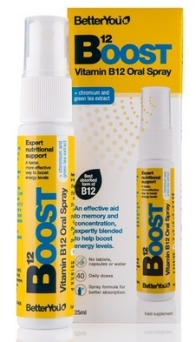 Witamina B12 Boost Pure Energy w Sprayu, 25ml
