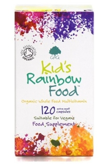 Kids Rainbow Food Bio 120 mini kapsułek